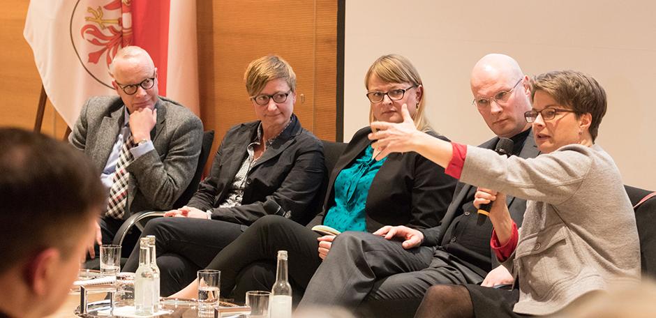Diskussion, Foto: Marc Darchinger