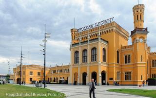 Hauptbahnhof Breslau, Foto: (c) dpa
