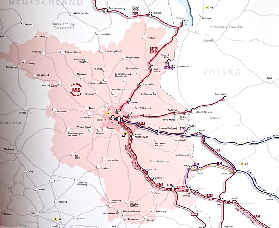 Bahnverbindungen