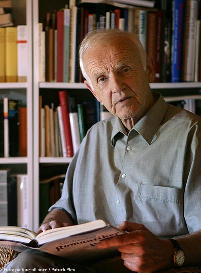 Schriftsteller Günter de Bruyn