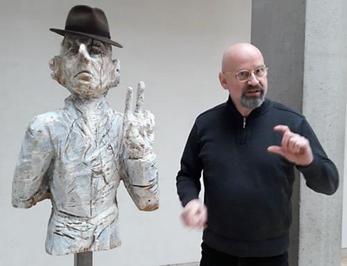 "Ein ""Brandenburger Kopf"" grüßt künftig im Foyer der Landesvertretung"