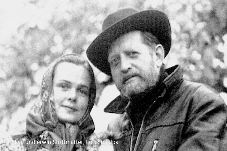 Eva und erwin Strittmatter, Foto: (c) dpa